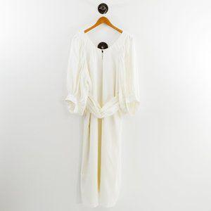 Apiece Apart Linen Dress w/ Waist Belt #143-99